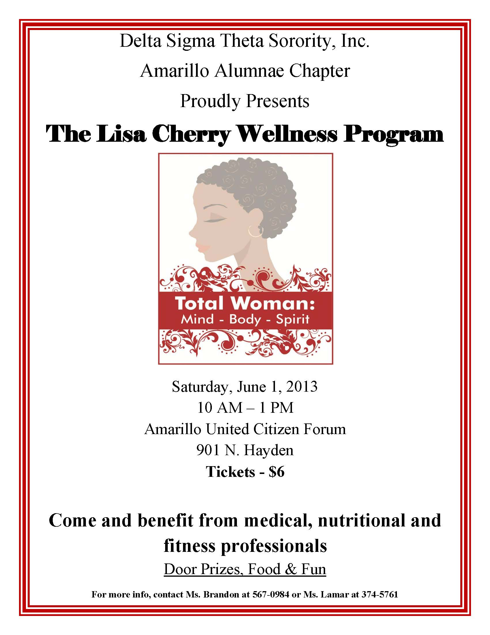 LisaCherryWellnessFlyer_June2013
