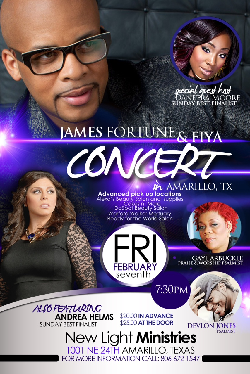 James Fotune Concert 2
