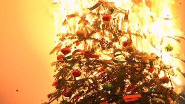 North Amarillo Now Tis The Season—For House Fires - Christmas Trees On Fire
