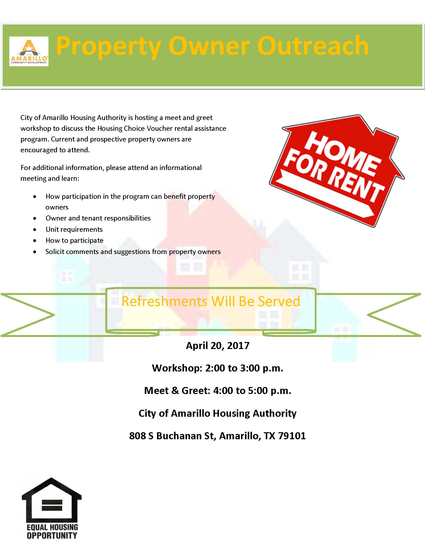 Landlord Fair Flyer